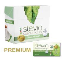 Stevia International Natural Stevia Powder, Packets, Pack of 2