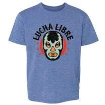 Wrestling Retro Vintage Wrestler Heel Babyface Toddler Kids Girl Boy T-Shirt