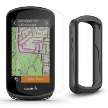 Garmin Edge 1030 Plus Cycle Bundle | with Bike Mounts, PlayBetter Silicone Case & Screen Protectors | GPS Bike Computer, Navigation (GPS Only, Black Case)