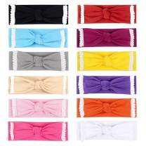 YHXX YLEN Baby Girl Cute Hairband Elastic Hair Accessories Headbands (12 Pcs 963)