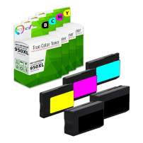 TCT Compatible Ink Cartridge Replacement for HP 950XL 951XL Works with HP OfficeJet Pro 251DW 276DW MFP Printers (Black, Cyan, Magenta, Yellow) - 5 Pack