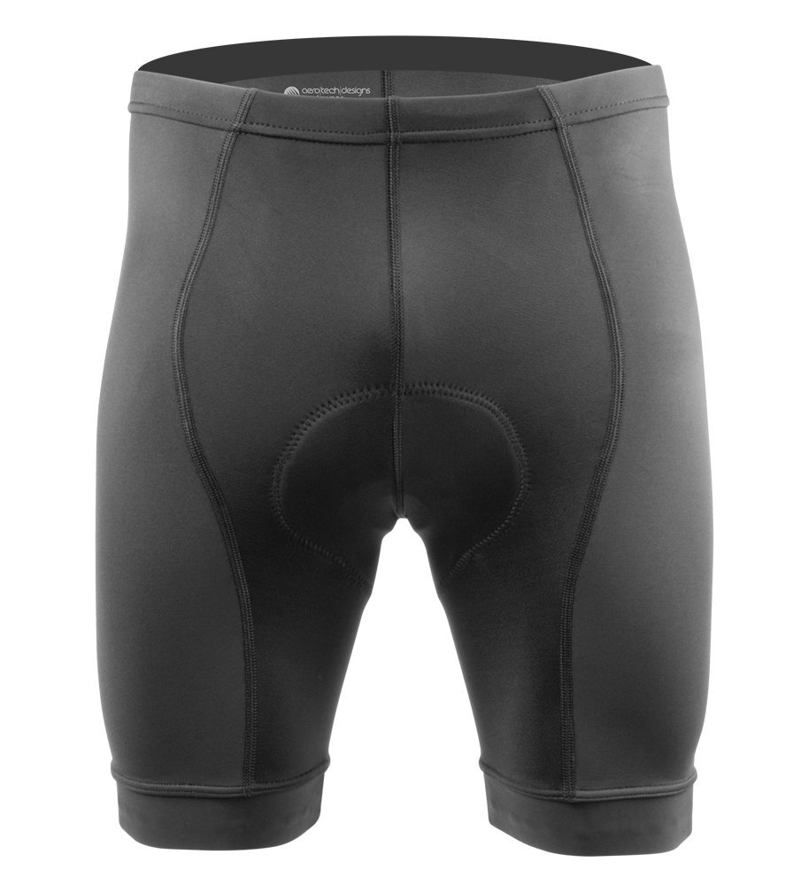 Men's Elite Padded Cycling Shorts - 3 Colors - Made in The USA