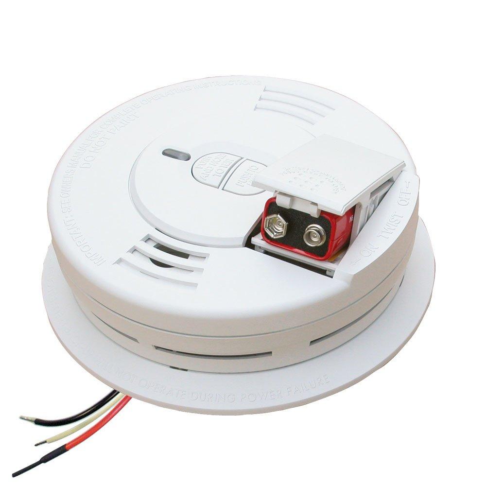 Kidde i12060 Hardwire with Front Load Battery Backup Smoke Alarm