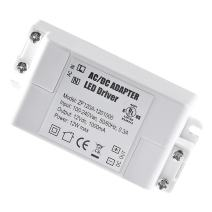YAYZA! 1-Pack Premium IP44 12V 1A 12W Low Voltage LED Driver Transformer AC DC Switching Power Supply