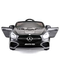 JAXPETY Benz 12V Electric Kids Ride On Car Licensed MP3 RC Remote Control (Black)