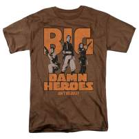 Firefly Serenity Big Damn Heroes TV Show Heather T Shirt & Stickers