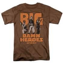 Firefly Serenity Big Damn Heroes TV Show Heather T Shirt & Stickers