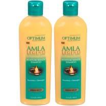 Optimum Care Salon Haircare Amla Legend Moisture Remedy Shampoo, 2 Count