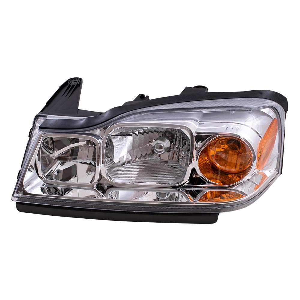 Aftermarket Replacement Driver Headlight Compatible with 2006-2007 Vue 15877671