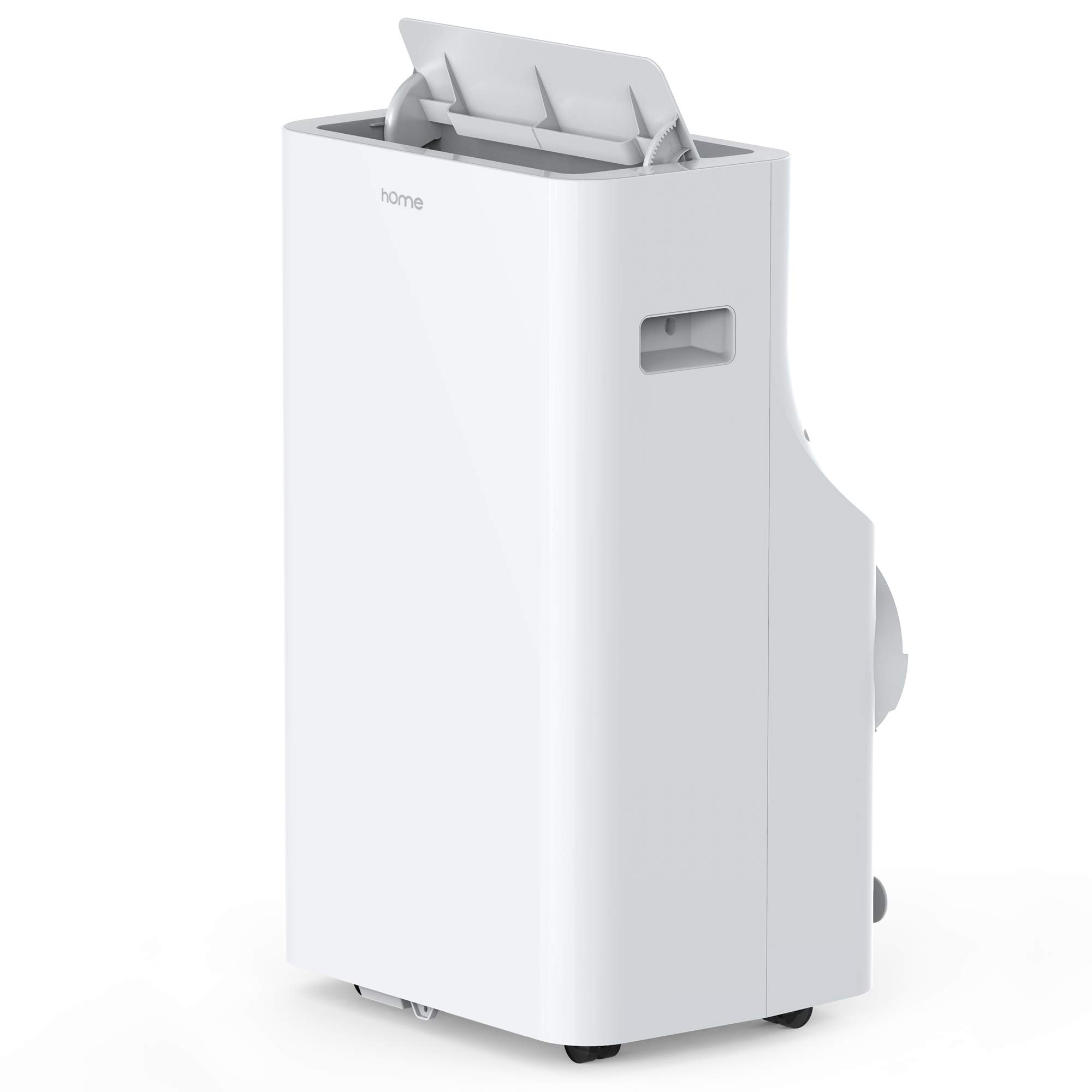 hOmeLabs 12,000 BTU Portable Air Conditioner - Quiet AC Cools Rooms 300-450 Square Feet - Air Conditioning Machine with 100 Pint Dehumidifier Function, Remote Control and Washable Filter