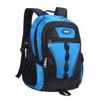 MATMO Boys Backpack, School Bag Casual Daypack Travel Backpack Student Book Bag (Ocean Blue)