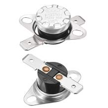 uxcell KSD301 Thermostat 135 Celsius Degree 10A N.C Snap Disc Limit Control Thermal Switch 2pcs