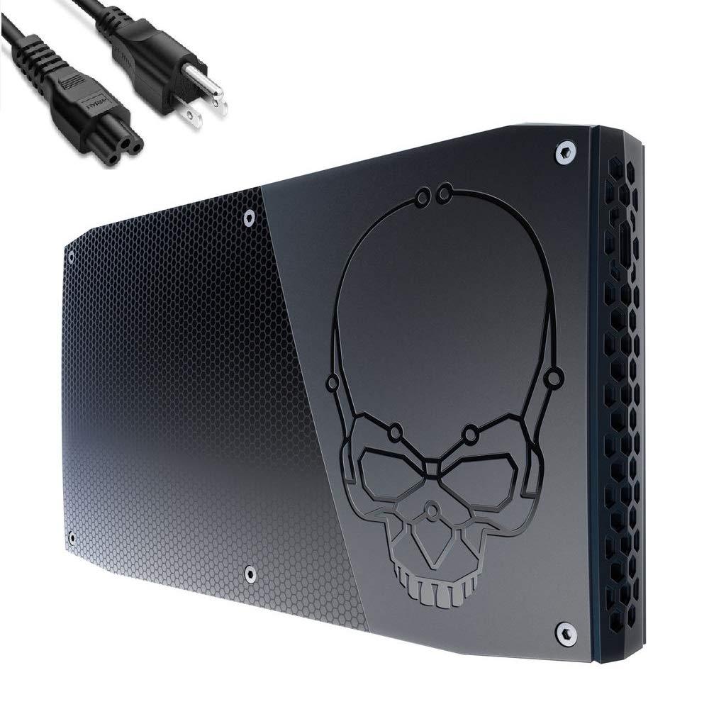 Intel Skull Canyon NUC 6 Performance Kit NUC6i7KYK Business & Home & Gaming Mini PC Desktop (Quad-Core i7-6770HQ, 8GB DDR4 RAM, 256GB SSD) Thunderbolt 3, Windows 10 Pro, IST Computers Power Cable