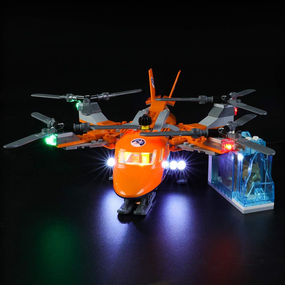 LIGHTAILING Light Set for (City Arctic Air Transport) Building Blocks Model - Led Light kit Compatible with Lego 60193(NOT Included The Model)