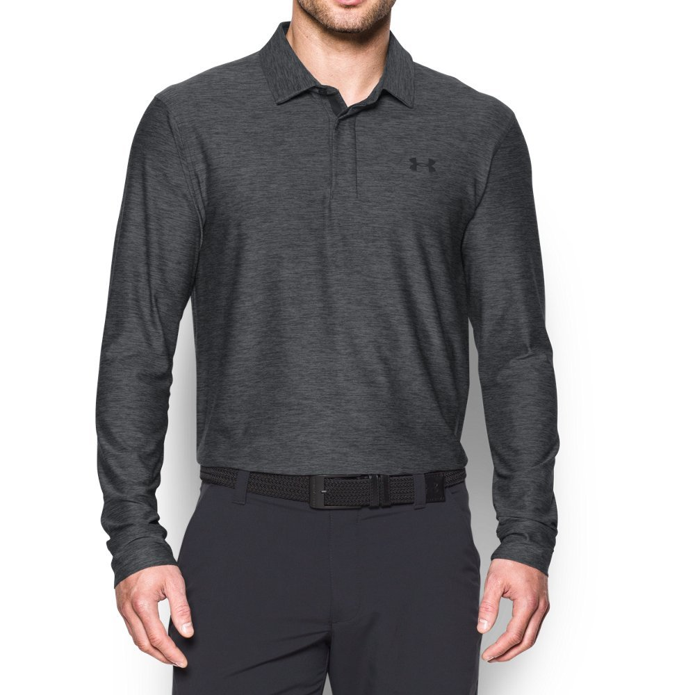 Under Armour Men's Playoff Long Sleeve Golf Polo