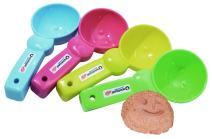 Spielstabil Ice Cream Scoop - Perfect for Sand Play or Use for Real Ice Cream! (Sold Individually - Colors Vary)