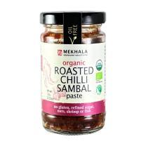 Mekhala Organic Gluten Free Roasted Thai Chili Paste / Sambal 3.53oz (6)