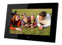 14-Inch Digital Photo Frame (Black), Hi-Resolution, Various Transitional Effects, Slide Show,Interval time Adjustable, Plug in a SD Card or Flash Drive to Access and Display Your Photos - Local Stock