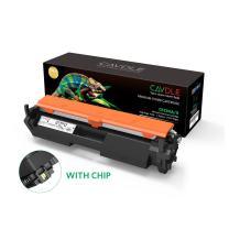 with Chip CAVDLE Compatible HP CF230A CF230X 30A 30X Toner Cartridge for HP Laserjet Pro MFP M227fdw m277fdn, HP Laserjet Pro M203dw m203dn Series Printers 1 Pack