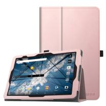 """Fintie Folio Case for AT&T Primetime Tablet - Premium PU Leather Stand Cover with Auto Sleep/Wake Feature for 10"""" ATT Primetime/ZTE K92 Primetime Android Tablet, Rose Gold"""