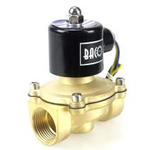 """BACOENG 1"""" DC12V Electric Solenoid Valve (NPT, Brass, Normally Closed)"""