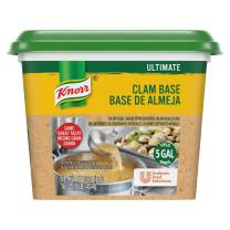 Knorr Professional Ultimate Clam Stock Base Gluten Free, No Artificial Colors, Flavors or Preservatives, No added MSG, 1 lb, Pack of 6