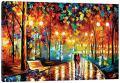 "iCanvasART LEA64-1PC3-12x8 iCanvas Rain's Rustle II Print by Leonid Afremov, 12"" x 8"""