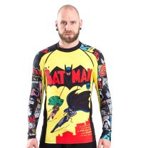 Fusion Fight Gear Batman Number 1 Comic Compression Shirt BJJ Rash Guard
