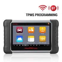 Autel MaxiPro MP808TS Scanner with TPMS Programming Sensor Relearn Activation OE-Level Full Systems Diagnostics 18 Service Functions Active Test for Workshops Garages