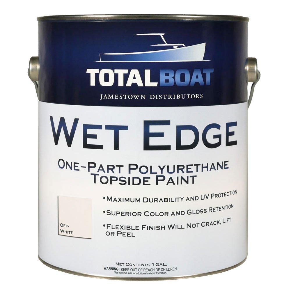 TotalBoat Wet Edge Topside Paint (Off-White, Gallon)