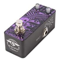 SWIFF Newest Design Multi-functional Digital Guitar Effect Pedal Flange Classic Tone Effects DC 9V Power Input True Bypass Effector for all Electronic Musical Instruments(Digital Flange)