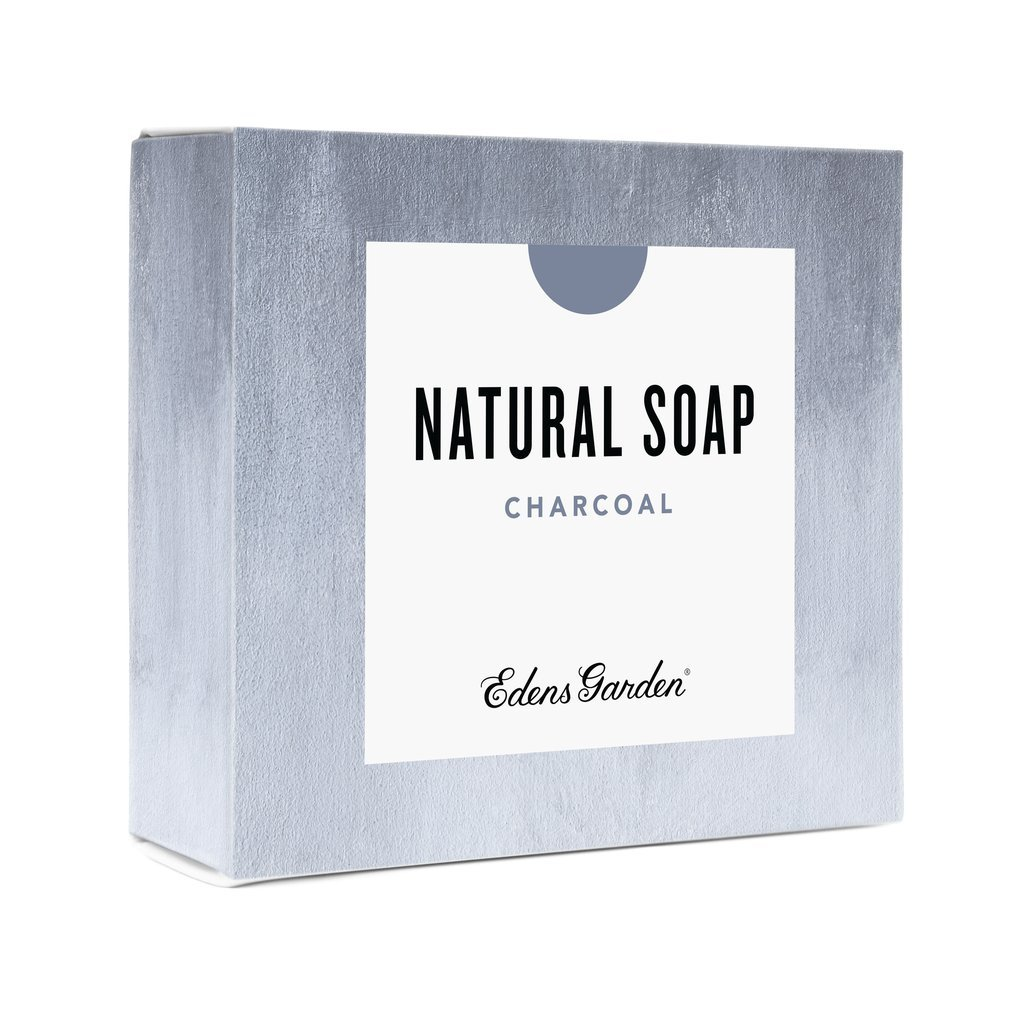 Edens Garden Charcoal Natural Aromatherapy Cold Processed Bar Soap (Made With Essential Oils, Vegan, For Face & Body), 4.4 oz Bar