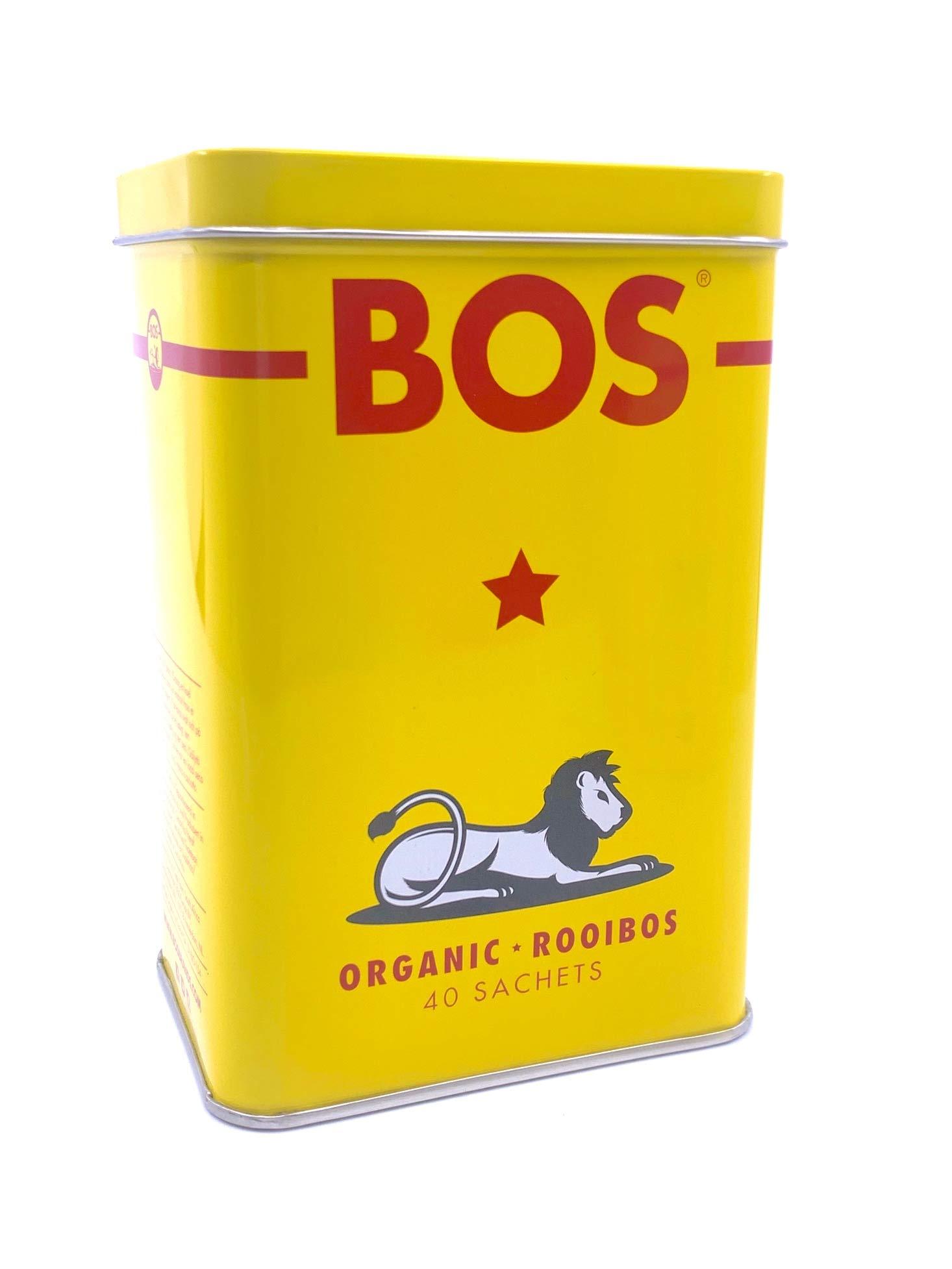 Organic Rooibos Tea Bags (Rooibos, Tea Tin (40 Bags))