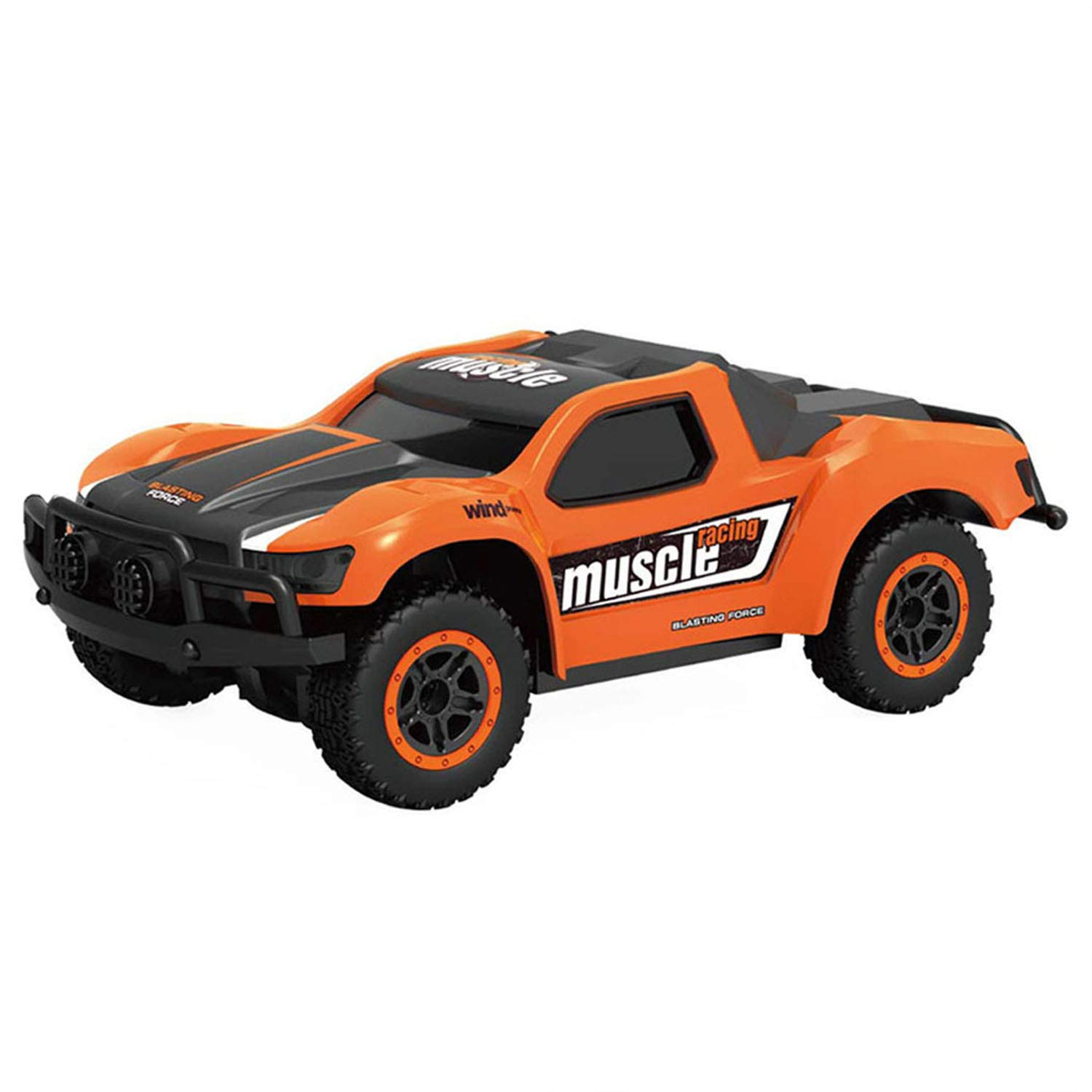 Chilartalent RC Cars Remote Control Car for Kids 5-12 Year Old, 1:43 Scale 4WD High Speed Racing Vehicles with 2.4GHz Radio Controller (Orange)