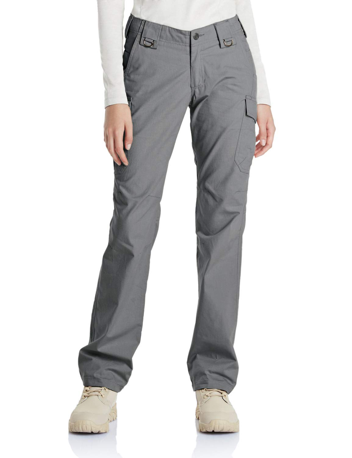 CQR Women's Outdoor Hiking UPF 50+ Flex Stretch with Multi Pockets