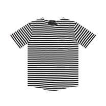 Gochange Mens Pocket T Shirts Short Sleeve Striped Soft Tee