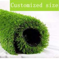 """ALTRUISTIC Artificial Grass 4ft x 7ft (28 Square Feet) Realistic Fake Grass Deluxe Turf Synthetic Thick Lawn Pet Turf, 1 3/8"""" Height, Outdoor Décor, 10 Years Warranty, Customized"""