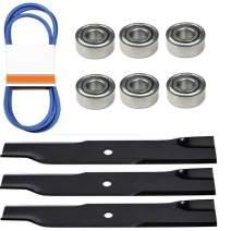"""Deck Kit Bearings Blades Belt Fits John Deere 50"""" Mower 300 316 317 318 322 332 330"""