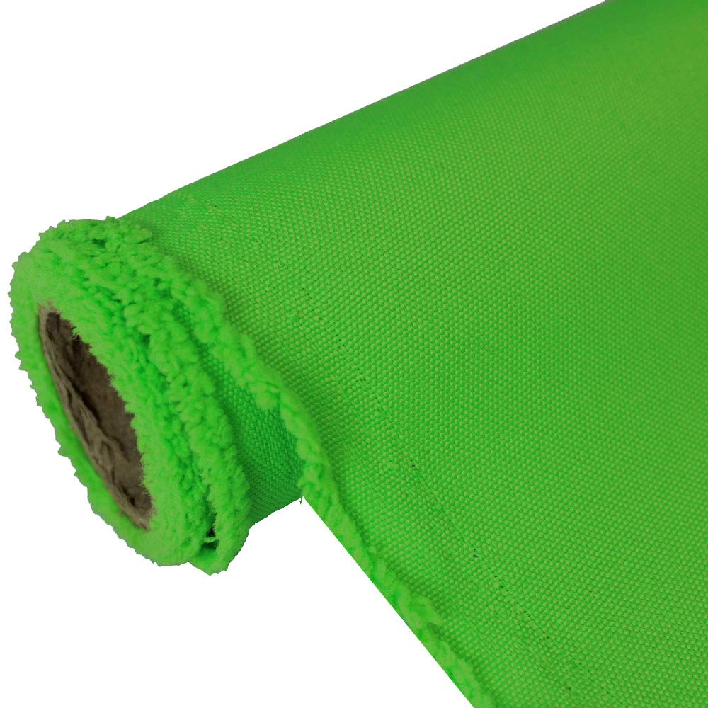Oxford Neon Lime Canvas Fabric Water Resistant Outdoor 600 Denier Indoor/Outdoor Fabric by The Yard PU Backing UV Protector Fabric by The Yard