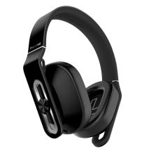 1MORE Over-Ear Headphones Bass Driven, Comfortable Earphones with Lightweight Durable Supercar Design, Noise Isolation, Microphone and Volume Control for iPhone/Android/PC/Tablet - MK801 Black