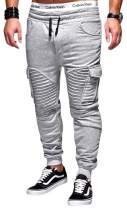 Uni Clau Fashion Men Gym Jogger Pant Workout Running Sweatpants Athletic Pant with Pocket