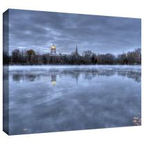 ArtWall 'The Basilica-Notre Dame' Gallery Wrapped Canvas Art by Dan Wilson, 36 by 48-Inch