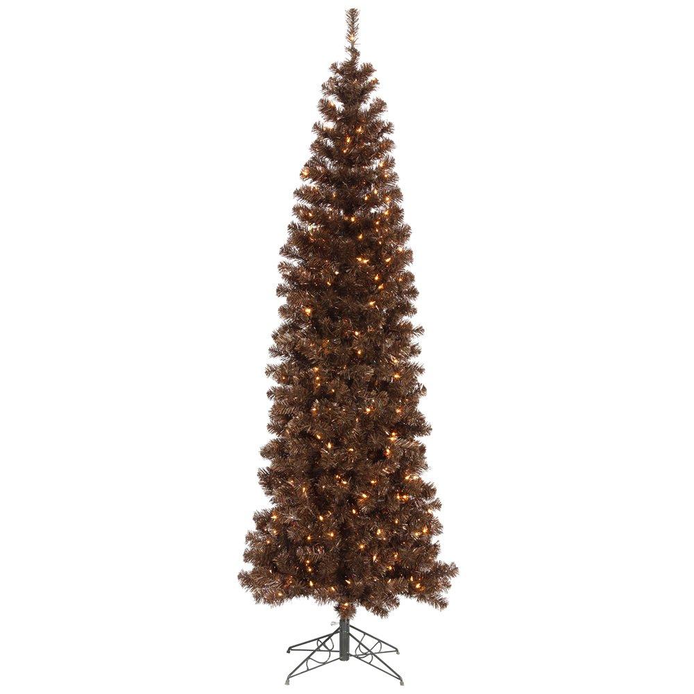 Vickerman Mocha Pencil Christmas Tree