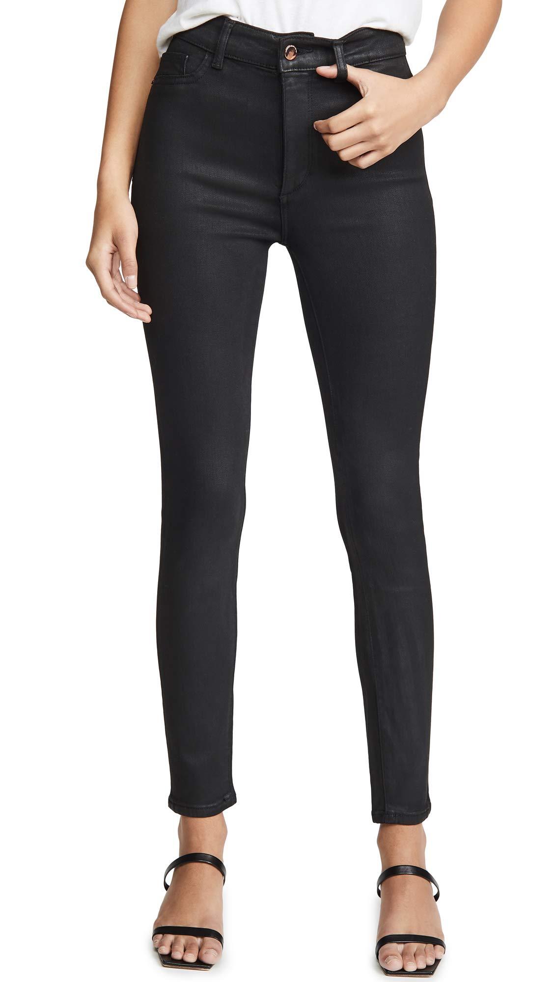 DL1961 Women's x Marianna Hewitt Farrow Ankle High Rise Skinny Jeans
