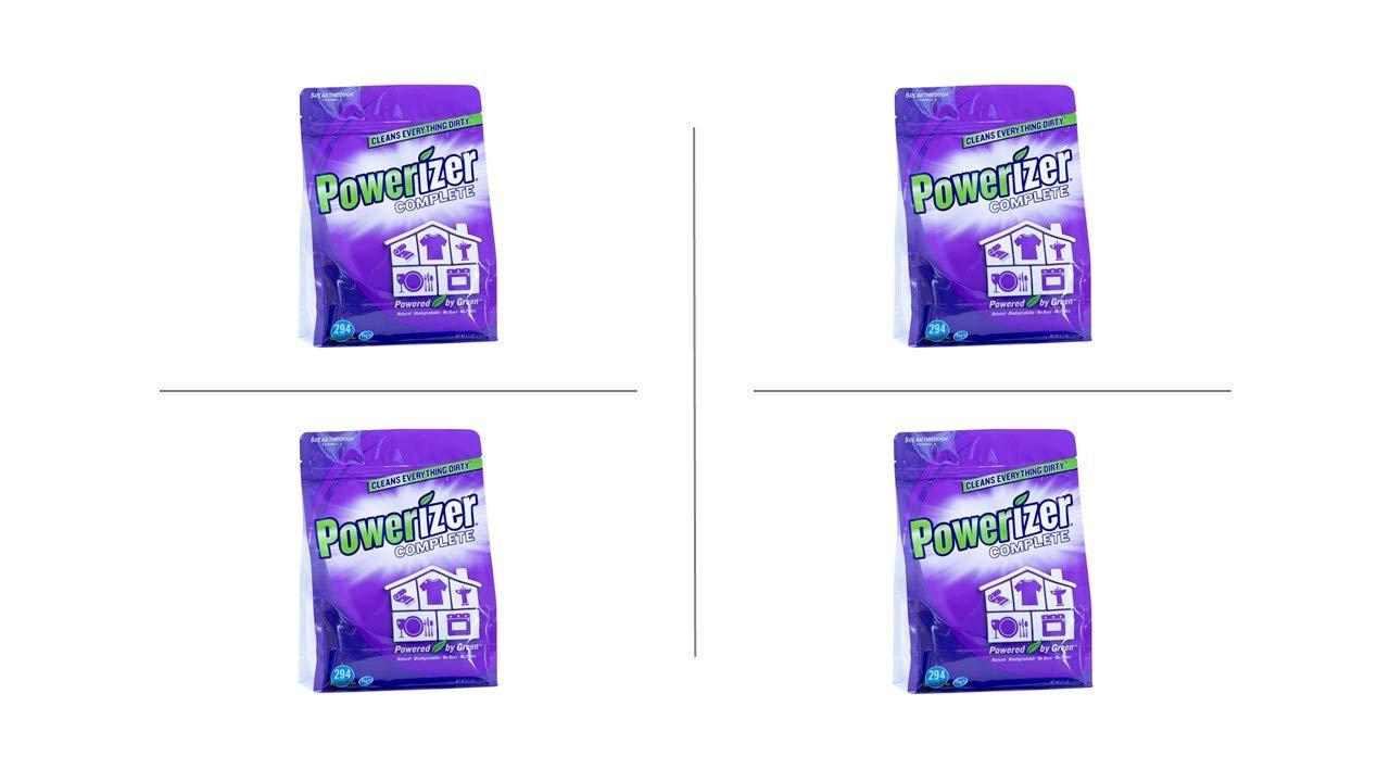 Powerizer Complete Multi-Purpose Detergent & Cleaner - Laundry, Dish, Carpet, Bath (6.5lb 4pk/case)