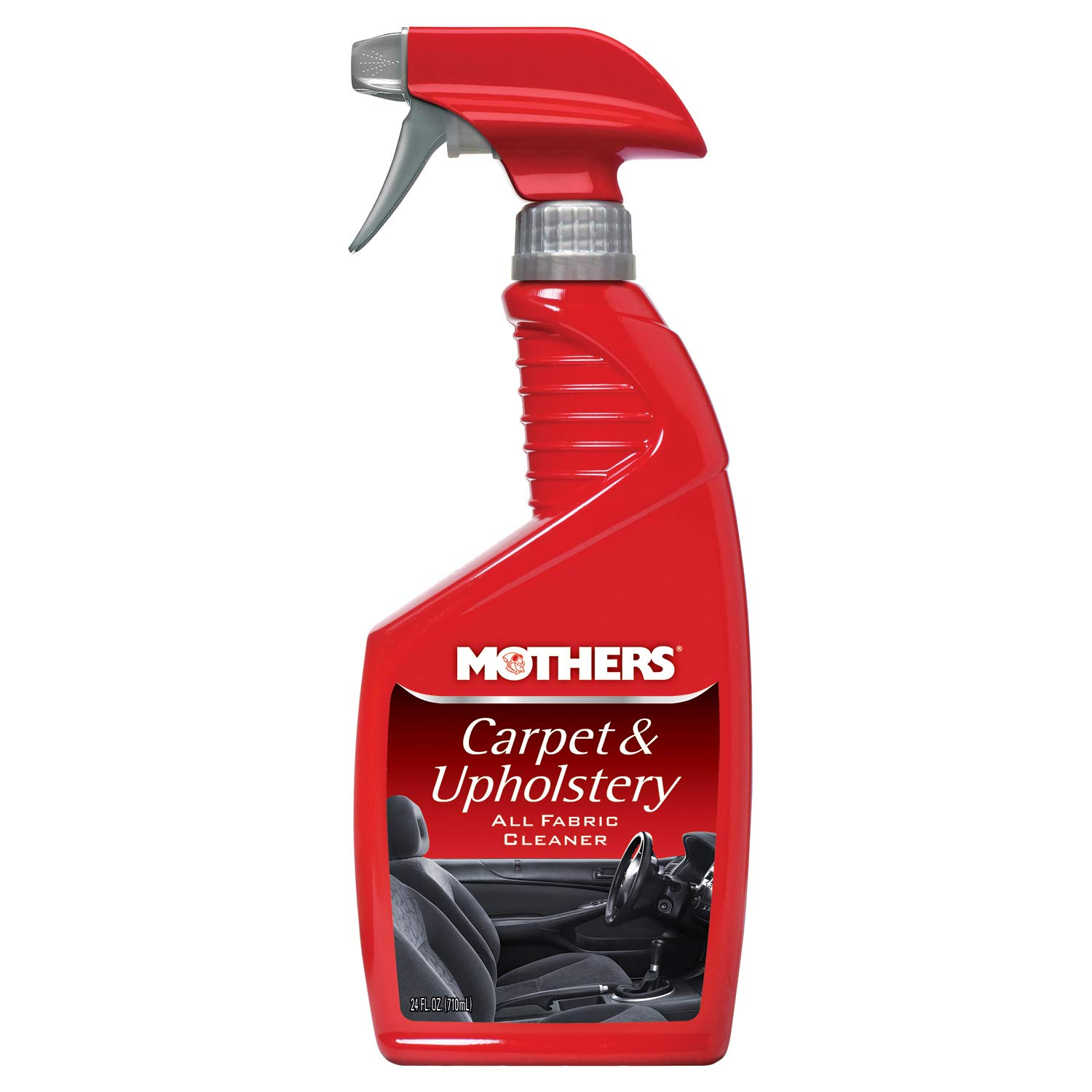 Mothers 05424-6 Carpet & Upholstery Cleaner - 24 oz, (Pack of 6)