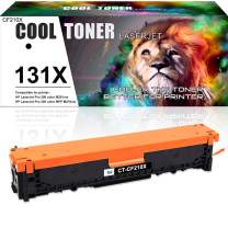 Cool Toner Compatible Toner Cartridge Replacement for HP 131X CF210X 131A CF210A HP Color Laserjet Pro 200 Color M251nw Mfp M276nw Printer,HP Color Laser Printer M251nw M276nw Toner-1PK