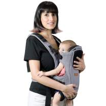 FEEMOM Baby Carriers Front and Back for Newborn to Toddler's Infant Carrier with Hip Seat for Boy and Girl