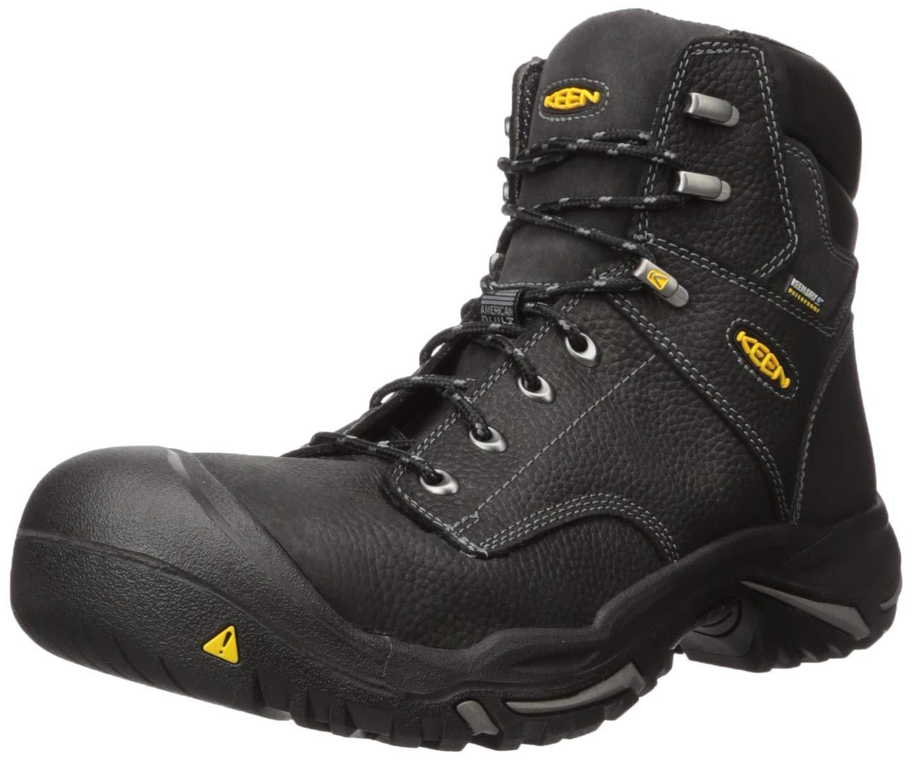 """KEEN Utility - Men's Mt Vernon 6"""" (Steel Toe) Waterproof Work Boot"""