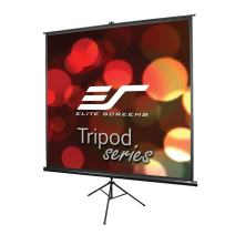 Elite Screens Tripod Series, 99-INCH 1:1, Adjustable Multi Aspect Ratio Portable Indoor Outdoor Projector Screen, 8K / 4K Ultra HD 3D Ready, 2-Year Warranty, T99UWS1